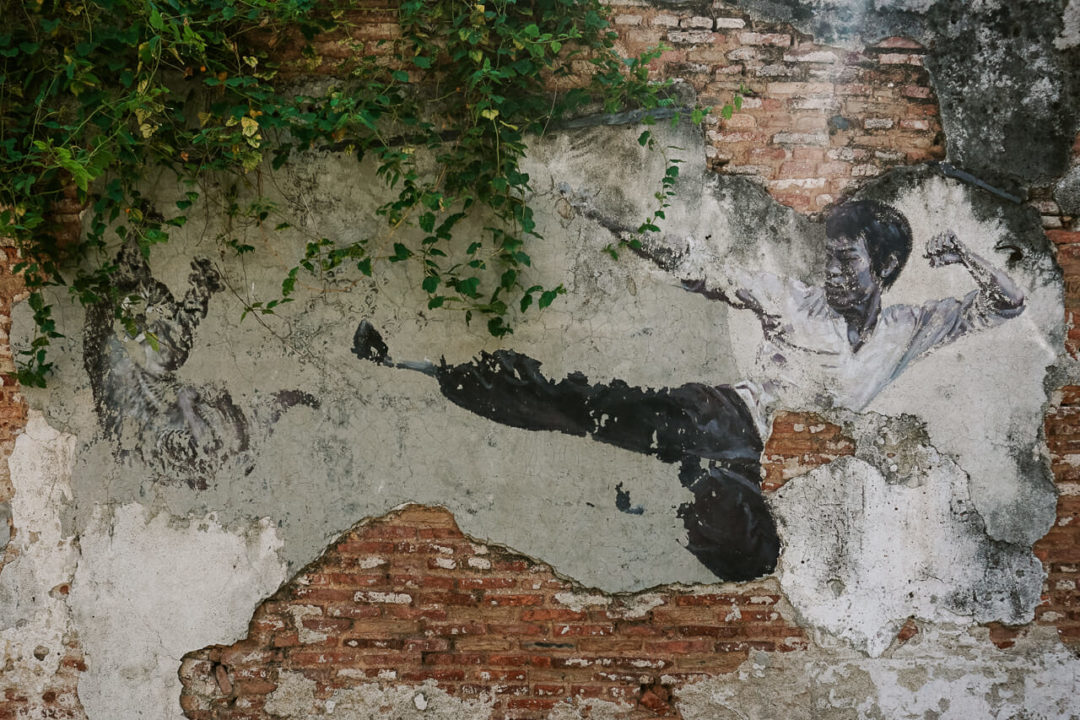 Penang Street Art Bruce Lee