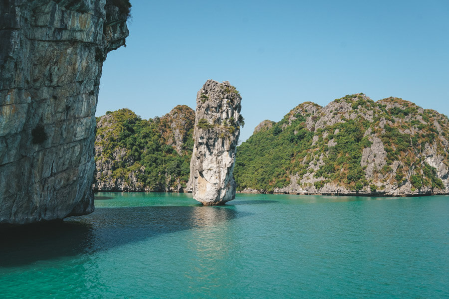 Halong Bay Candle Rock