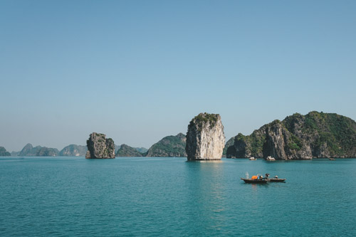 Cat Ba Island und die Halong Bay Tour in Vietnam