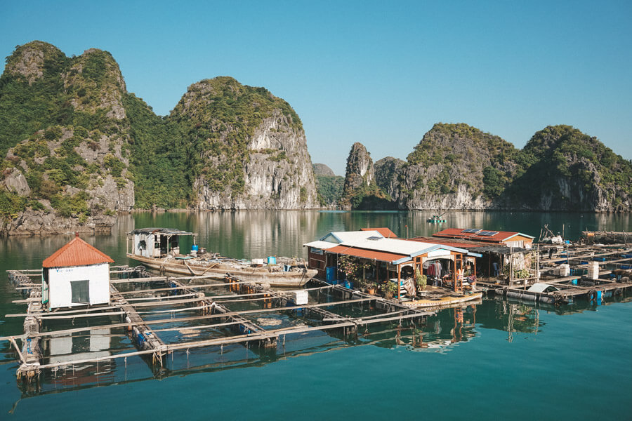 Floating Village in Lan Ha