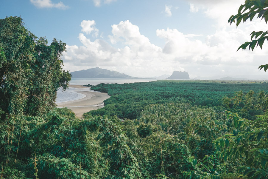Landschaft in El Nido
