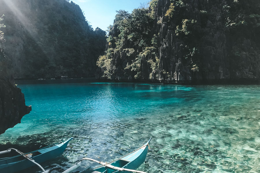 2 Kayaks in Coron Island
