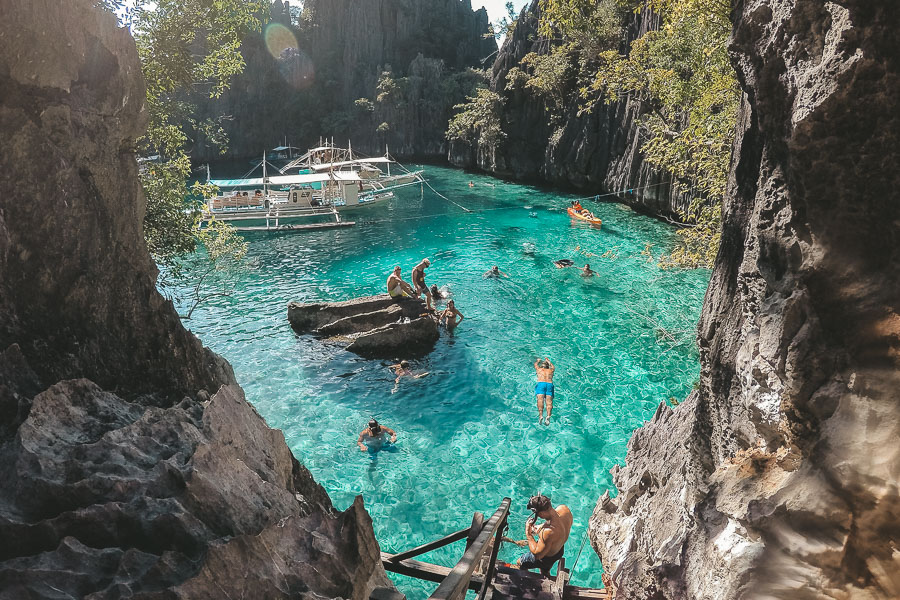 Coron Highlight - Twin Lagoon