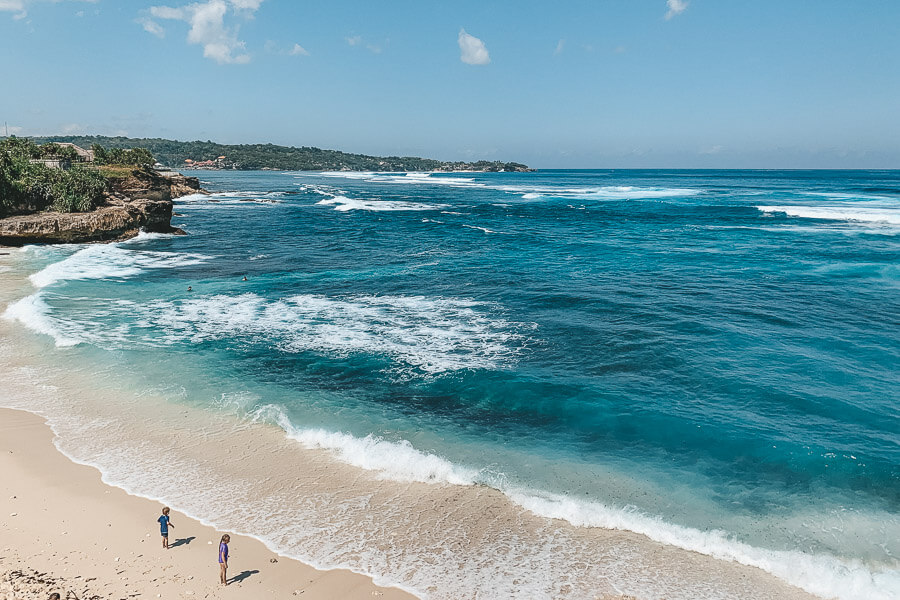 Nusa Lembongan Tipps - Dream Beach